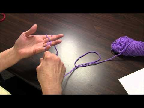 Finger Knitting - How to Finger Knit