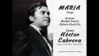 María (Tango) Héctor Cabrera