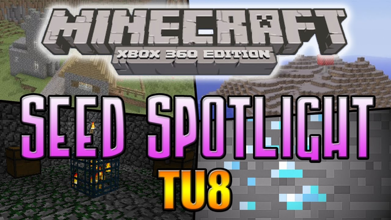 Minecraft (Xbox 360) Seed Spotlight 2x Dungeons, Mooshroom ...