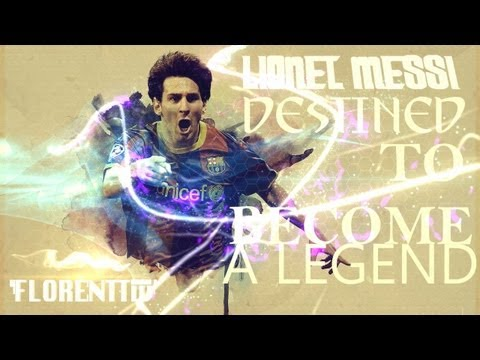 Lionel Messi - Destined To Become A Legend 1987-2013 |HD|