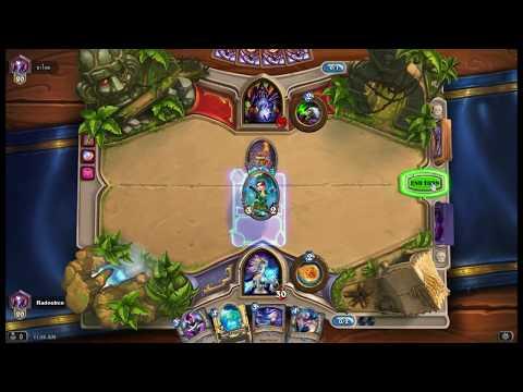 Hearthstone: Mage vs Warlock - Funny Moment 2