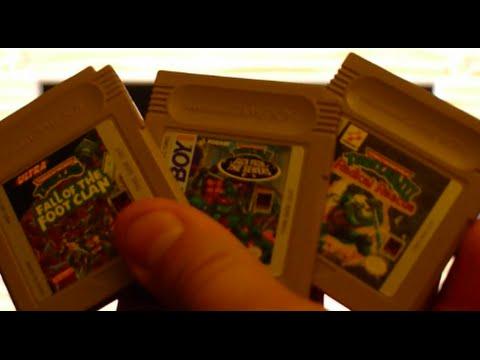 Gaming Paraphilia: Three Teenage Mutant Ninja Turtles games on Game Boy!