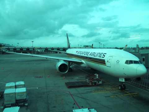 2014/01/12 シンガポール航空 966便 / Singapore Airlines 966