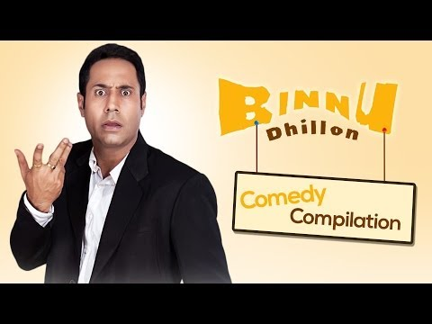 Best Of Binnu Dhillon - Comedy Compilation 2013-2014