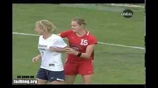 Chicas violentas en fútbol