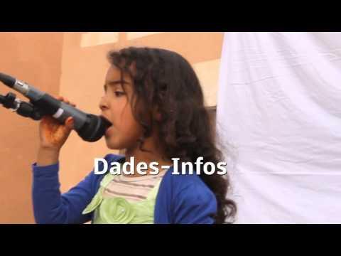 طفلة ترد بأغنية أمازيغية على «عطيني صاكي»
