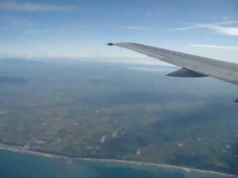 Approach over Mediterraen Sea
