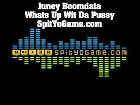 Juney Boomdata - Whats Up Wit Da Pussy? Lyrics MetroLyrics