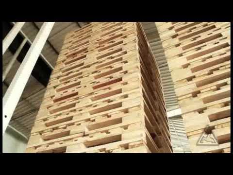 Máquina para Montagem Automática de Pallet de Madeira - Modelo PRG1 (vídeo 1)