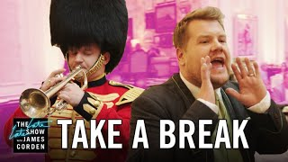 Take a Break: The Savoy Hotel  #LateLateLondon