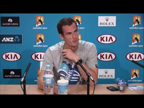 Andy Murray press conference - 2014 Australian Open