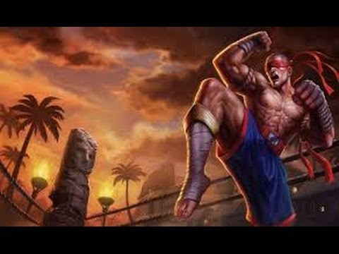 Muay Thai Lee Sin Gameplay URF