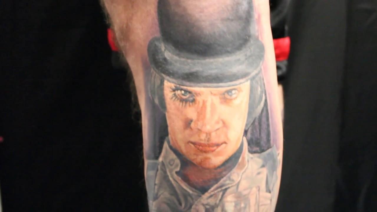 A clockwork orange tattoo by biagio youtube for Clockwork orange tattoo