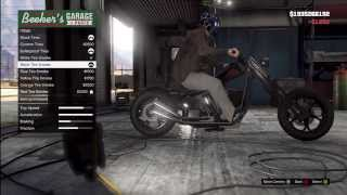 GTA 5: FULLY CUSTOMIZED LCC Hexen Hidden (Chopper Bike