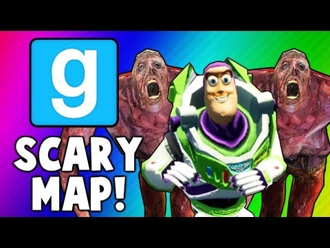 Gmod Scary Maps - Used Condom Puzzle, Early Halloween! (Garry's Mod Funny Moments)