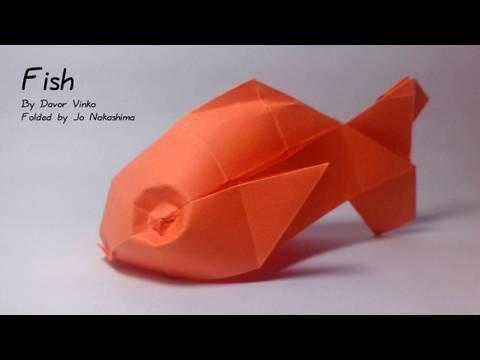 Origami Fish (Davor Vinko) - not a tutorial