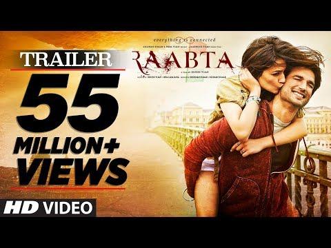 Raabta Official Trailer |  Sushant Singh Rajput & Kriti Sanon