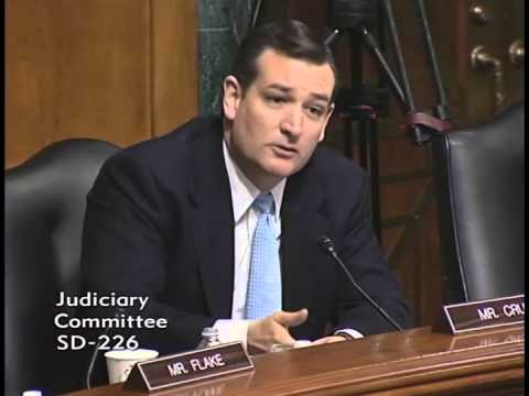 Sen. Ted Cruz Questions Eric Holder on the Investigation into IRS Targeting of Conservatives
