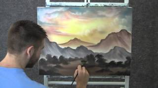 Paint With Kevin Hill Desert Road Wet On Wet HD