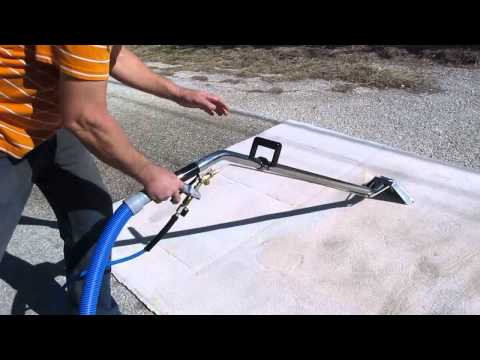 El Diablo HEAT EXCHANGER Truckmount - Steambrite's Live Carpet Cleaning Demonstration