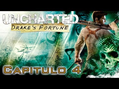 Uncharted: El Tesoro de Drake Gameplay Walkthrough - Parte 4 - Espaol