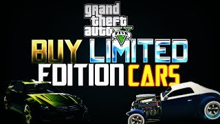 "GTA 5 Online: How To Get ""Collectors Edition"" Cars Glitch"