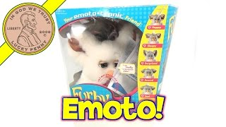 2005 Furby Stuffed Emoto Tronic Animated Toy - Tiger Toys