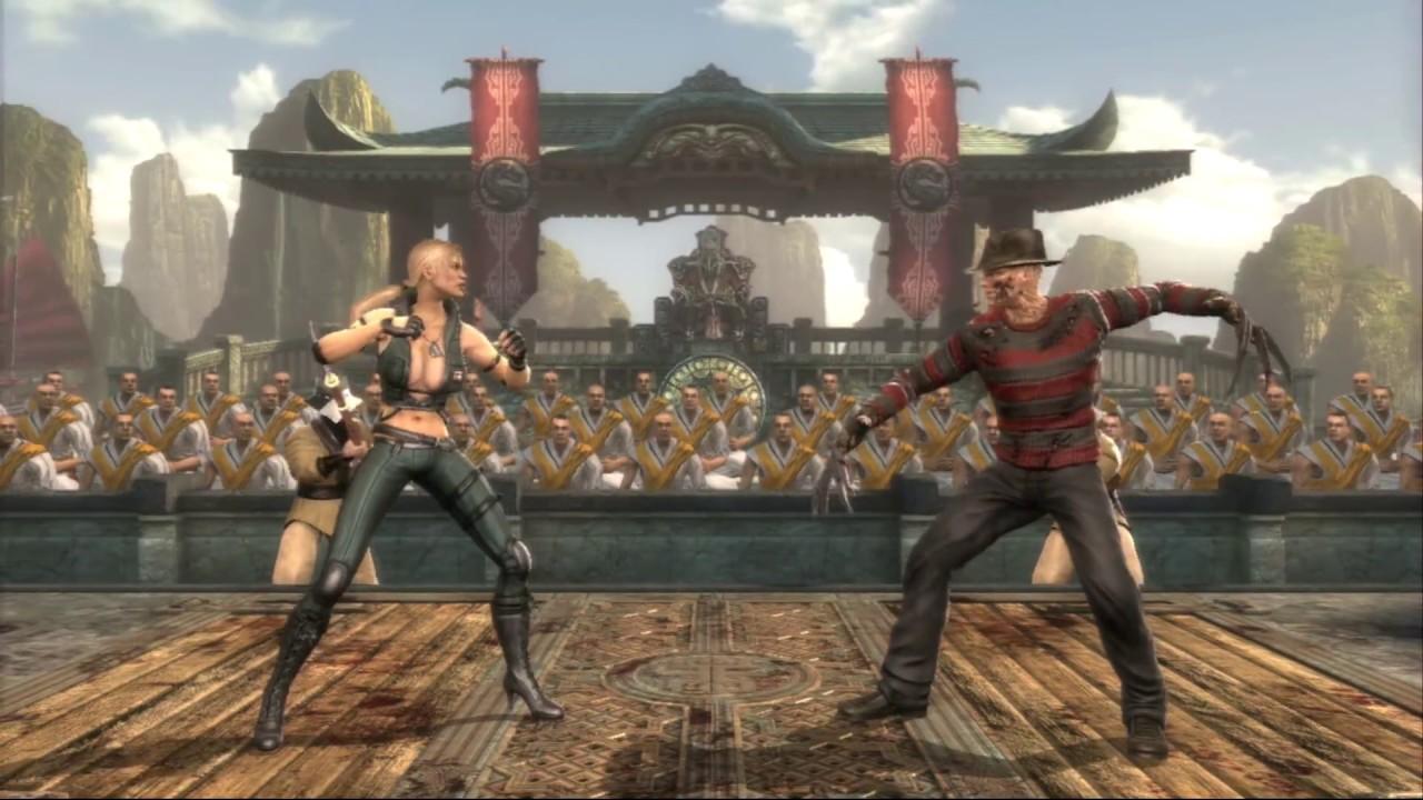 Mortal kompat 9 mileena ful mods cartoon clips