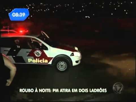 Policial atira em dois bandidos durante assalto em Campinas SP