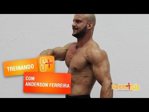 Anderson Ferreira- Treino de ombros