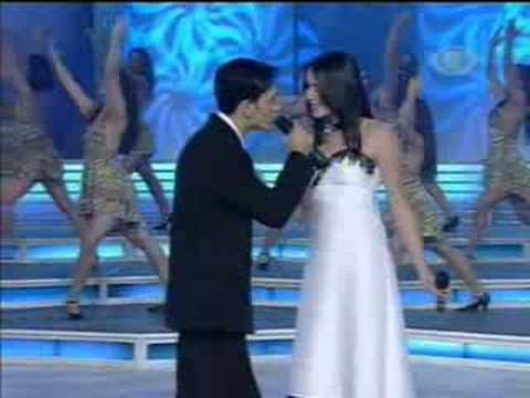 Roberta & Guilherme no programa Raul Gil - Tudo que se quer