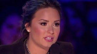 "Alex & Sierra Perform ""Gravity"" On X Factor & Make Demi"