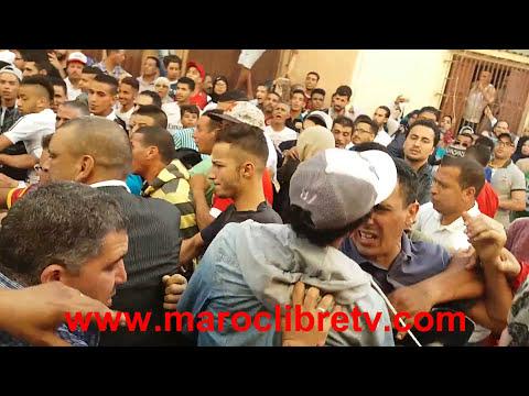 لحظة اعتقال مختل عقليا حاول ذبح طفل بدرب مكناس بمدينة المحمدية