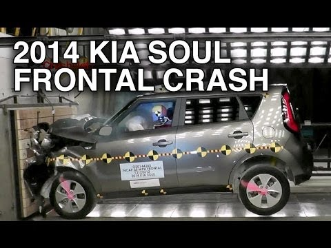 2014 Kia Soul | Frontal Crash Test by NHTSA | CrashNet1