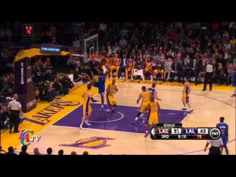 Clippers Highlights vs Lakers (Mar 6 2014)