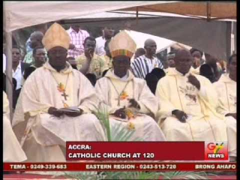 Catholic Church climax its 120th anniversary celebrations