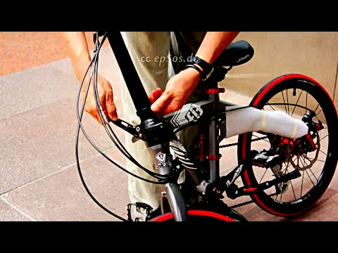 How to Use Foldable Bicycle in Public Transport