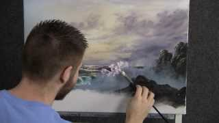 Paint With Kevin Hill Morning Wave