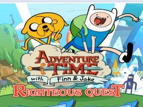 DERPY NINJAS - Adventure Time Righteous Quest (Flash Friday)