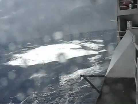 Super Wave hits cruise ship