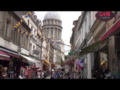 Boulogne-sur-Mer Cote d'Opale France - a nice old town walk