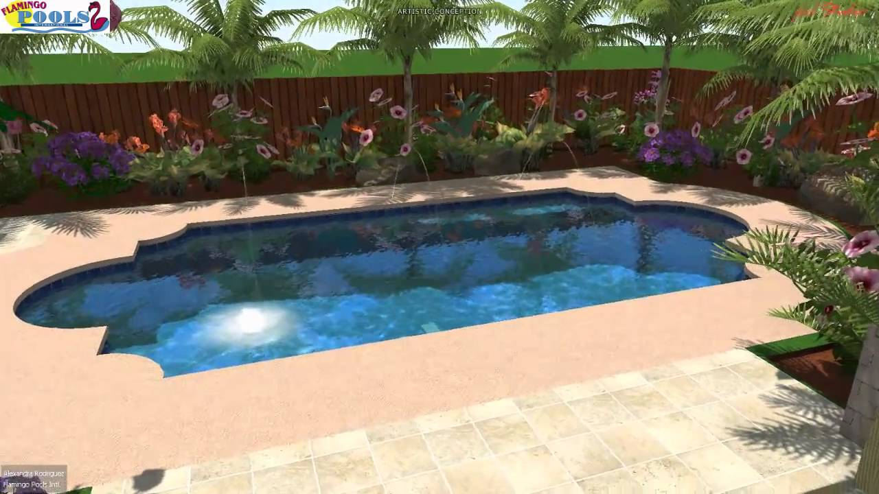 3d swimming pool design dmc edinburg youtube for Swimming pool design youtube
