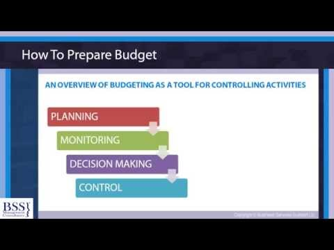 Budgeting Skills For Non Financial Managers