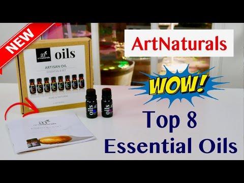 😍 ArtNaturals Aromatherapy Top 8 Essential Oils - Review  ✅