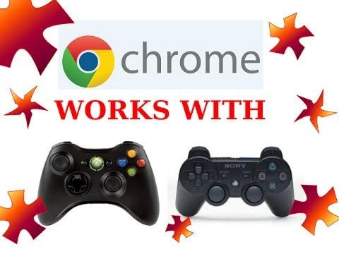 CHROMEBOOK:HOW TO CONNECT A XBOX/PS3 CONTROLLER AND WHAT GAMES!