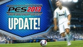 Pes 2013 How To UPDATE Pes 2013 !!! LATEST PATCH