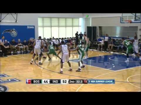 Kelly Olynyk vs Indiana Pacers at Orlando Summer League 2014 - 19 pts, 6 reb