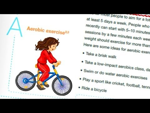 What are aerobic exercises? How can I do them in my day-to-day life?