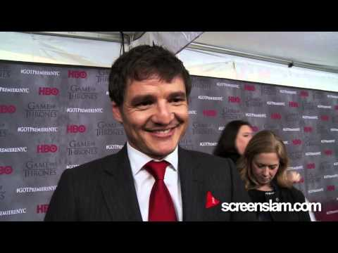 Game of Thrones Exclusive Premiere: Pedro Pascal