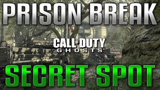 Cod Ghosts Glitches: Prison Break Secret Spot Online! SOLO
